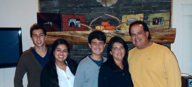 (L to R): Antonio, Emily, Carlos, Lizi, Tony